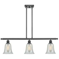 Innovations Lighting 516-3I-BK-G2811-LED Hanover LED 36 inch Matte Black Island Light Ceiling Light Ballston
