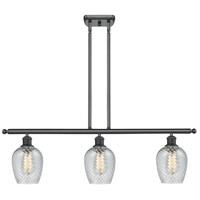 Innovations Lighting 516-3I-BK-G292-LED Salina LED 36 inch Matte Black Island Light Ceiling Light Ballston