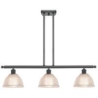 Innovations Lighting 516-3I-BK-G422-LED Arietta LED 36 inch Matte Black Island Light Ceiling Light Ballston
