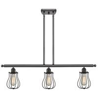 Innovations Lighting 516-3I-OB-513-LED Barrington LED 42 inch Oil Rubbed Bronze Island Light Ceiling Light