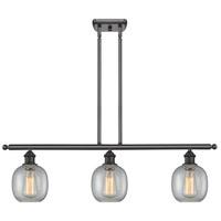 Innovations Lighting 516-3I-OB-G104-LED Belfast LED 42 inch Oil Rubbed Bronze Island Light Ceiling Light