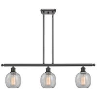 Innovations Lighting 516-3I-OB-G105-LED Belfast LED 42 inch Oil Rubbed Bronze Island Light Ceiling Light
