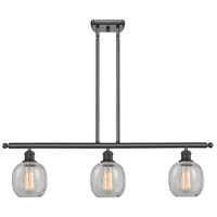 Innovations Lighting 516-3I-OB-G105 Belfast 3 Light 42 inch Oiled Rubbed Bronze Island Light Ceiling Light