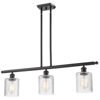 Innovations Lighting 516-3I-OB-G112-LED Cobbleskill LED 42 inch Oil Rubbed Bronze Island Light Ceiling Light