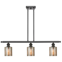 Innovations Lighting 516-3I-OB-G116-LED Cobbleskill LED 42 inch Oil Rubbed Bronze Island Light Ceiling Light