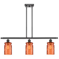 Oil Rubbed Bronze Candor Island Lights