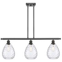 Innovations Lighting 516-3I-OB-G372-LED Large Waverly LED 36 inch Oil Rubbed Bronze Island Light Ceiling Light Ballston