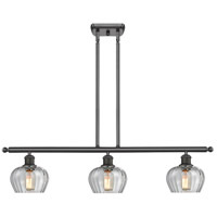 Innovations Lighting 516-3I-OB-G92-LED Fenton LED 42 inch Oil Rubbed Bronze Island Light Ceiling Light