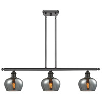 Innovations Lighting 516-3I-OB-G93-LED Fenton LED 42 inch Oil Rubbed Bronze Island Light Ceiling Light
