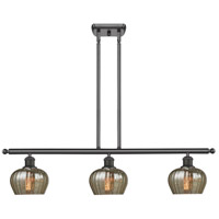 Innovations Lighting 516-3I-OB-G96 Fenton 3 Light 42 inch Oiled Rubbed Bronze Island Light Ceiling Light