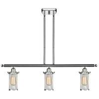 Innovations Lighting 516-3I-PC-220 Bleecker 3 Light 42 inch Polished Chrome Island Light Ceiling Light