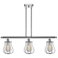 Innovations Lighting 516-3I-PC-513-LED Barrington LED 42 inch Polished Chrome Island Light Ceiling Light