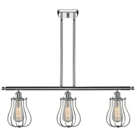 Innovations Lighting 516-3I-PC-513 Barrington 3 Light 42 inch Polished Chrome Island Light Ceiling Light