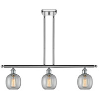 Innovations Lighting 516-3I-PC-G104 Belfast 3 Light 42 inch Polished Chrome Island Light Ceiling Light