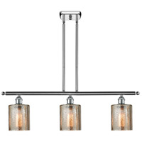 Cobbleskill 3 Light 42 inch Polished Chrome Island Light Ceiling Light