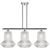 Innovations Lighting 516-3I-PC-G212 Springwater 3 Light 36 inch Polished Chrome Island Light Ceiling Light Ballston