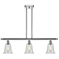 Innovations Lighting 516-3I-PC-G2812 Hanover 3 Light 42 inch Polished Chrome Island Light Ceiling Light, Ballston