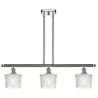 Polished Chrome Steel Niagra Island Lights