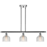 Polished Chrome Dayton Island Lights