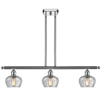 Innovations Lighting 516-3I-PC-G92-LED Fenton LED 42 inch Polished Chrome Island Light Ceiling Light