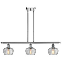 Innovations Lighting 516-3I-PC-G92 Fenton 3 Light 42 inch Polished Chrome Island Light Ceiling Light