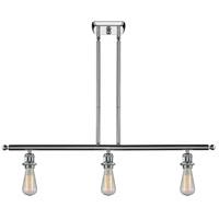 Innovations Lighting 516-3I-PC-LED Bare Bulb LED 42 inch Polished Chrome Island Light Ceiling Light