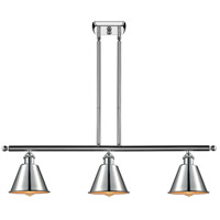 Innovations Lighting 516-3I-PC-M8 Smithfield 3 Light 42 inch Polished Chrome Island Light Ceiling Light