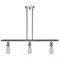 Innovations Lighting 516-3I-PC Signature 3 Light 42 inch Polished Chrome Island Light Ceiling Light