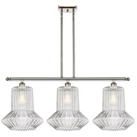 Innovations Lighting 516-3I-PN-G212 Springwater 3 Light 36 inch Polished Nickel Island Light Ceiling Light Ballston