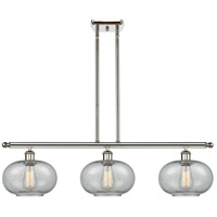 Innovations Lighting 516-3I-PN-G247-LED Gorham LED 36 inch Polished Nickel Island Light Ceiling Light Ballston