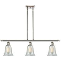 Innovations Lighting 516-3I-PN-G2811-LED Hanover LED 36 inch Polished Nickel Island Light Ceiling Light Ballston