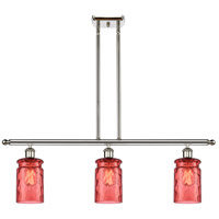Innovations Lighting 516-3I-PN-G352-RD-LED Candor LED 36 inch Polished Nickel Island Light Ceiling Light Ballston
