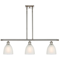 Innovations Lighting 516-3I-PN-G381-LED Castile LED 36 inch Polished Nickel Island Light Ceiling Light Ballston