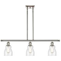 Innovations Lighting 516-3I-PN-G394 Ellery 3 Light 36 inch Polished Nickel Island Light Ceiling Light Ballston