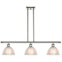 Innovations Lighting 516-3I-PN-G422 Arietta 3 Light 36 inch Polished Nickel Island Light Ceiling Light Ballston