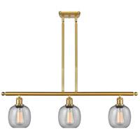 Innovations Lighting 516-3I-SG-G104 Belfast 3 Light 36 inch Satin Gold Island Light Ceiling Light Ballston