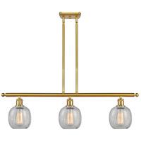 Innovations Lighting 516-3I-SG-G105 Belfast 3 Light 36 inch Satin Gold Island Light Ceiling Light Ballston