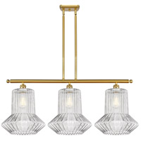 Innovations Lighting 516-3I-SG-G212 Springwater 3 Light 36 inch Satin Gold Island Light Ceiling Light Ballston