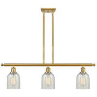 Innovations Lighting 516-3I-SG-G2511 Caledonia 3 Light 36 inch Satin Gold Island Light Ceiling Light Ballston