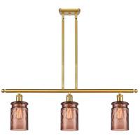 Innovations Lighting 516-3I-SG-G352-TOF Candor 3 Light 36 inch Satin Gold Island Light Ceiling Light