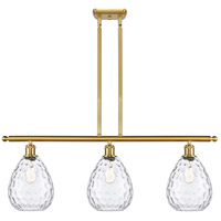 Satin Gold Large Waverly Island Lights
