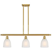 Satin Gold Glass Brookfield Island Lights
