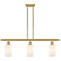 Satin Gold Glass Clymer Island Lights