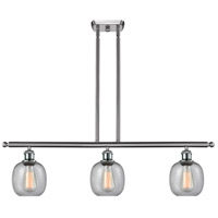 Innovations Lighting 516-3I-SN-G104 Belfast 3 Light 42 inch Brushed Satin Nickel Island Light Ceiling Light