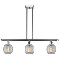 Innovations Lighting 516-3I-SN-G105 Belfast 3 Light 42 inch Brushed Satin Nickel Island Light Ceiling Light