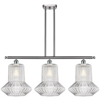 Innovations Lighting 516-3I-SN-G212 Springwater 3 Light 36 inch Satin Nickel Island Light Ceiling Light, Ballston