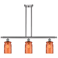 Satin Nickel Candor Island Lights