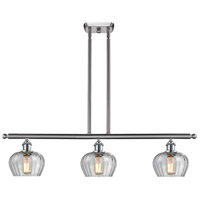 Innovations Lighting 516-3I-SN-G92-LED Fenton LED 42 inch Brushed Satin Nickel Island Light Ceiling Light