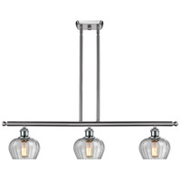 Innovations Lighting 516-3I-SN-G92 Fenton 3 Light 42 inch Brushed Satin Nickel Island Light Ceiling Light