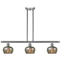 Innovations Lighting 516-3I-SN-G96 Fenton 3 Light 42 inch Brushed Satin Nickel Island Light Ceiling Light